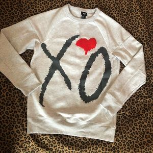 The Weeknd H&M sweater.